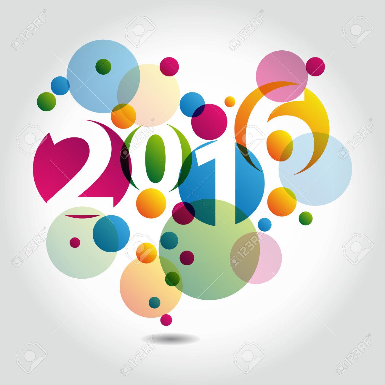 Gambar Animasi DP BBM Selamat Tahun Baru 2016 Terbaru Kumpulan