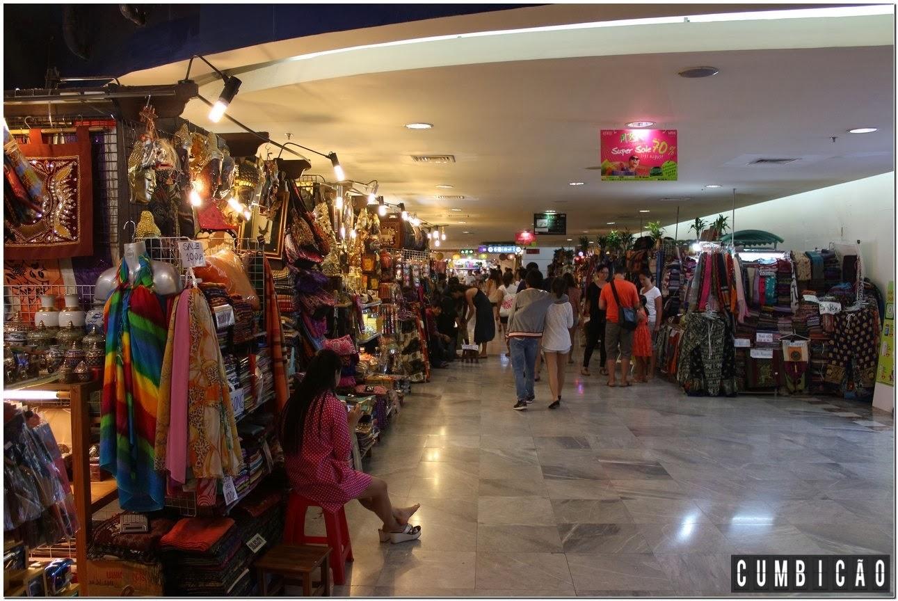 99a7b294d Tailândia - Compras em Bangkok   shoppings e street markets Cumbicão