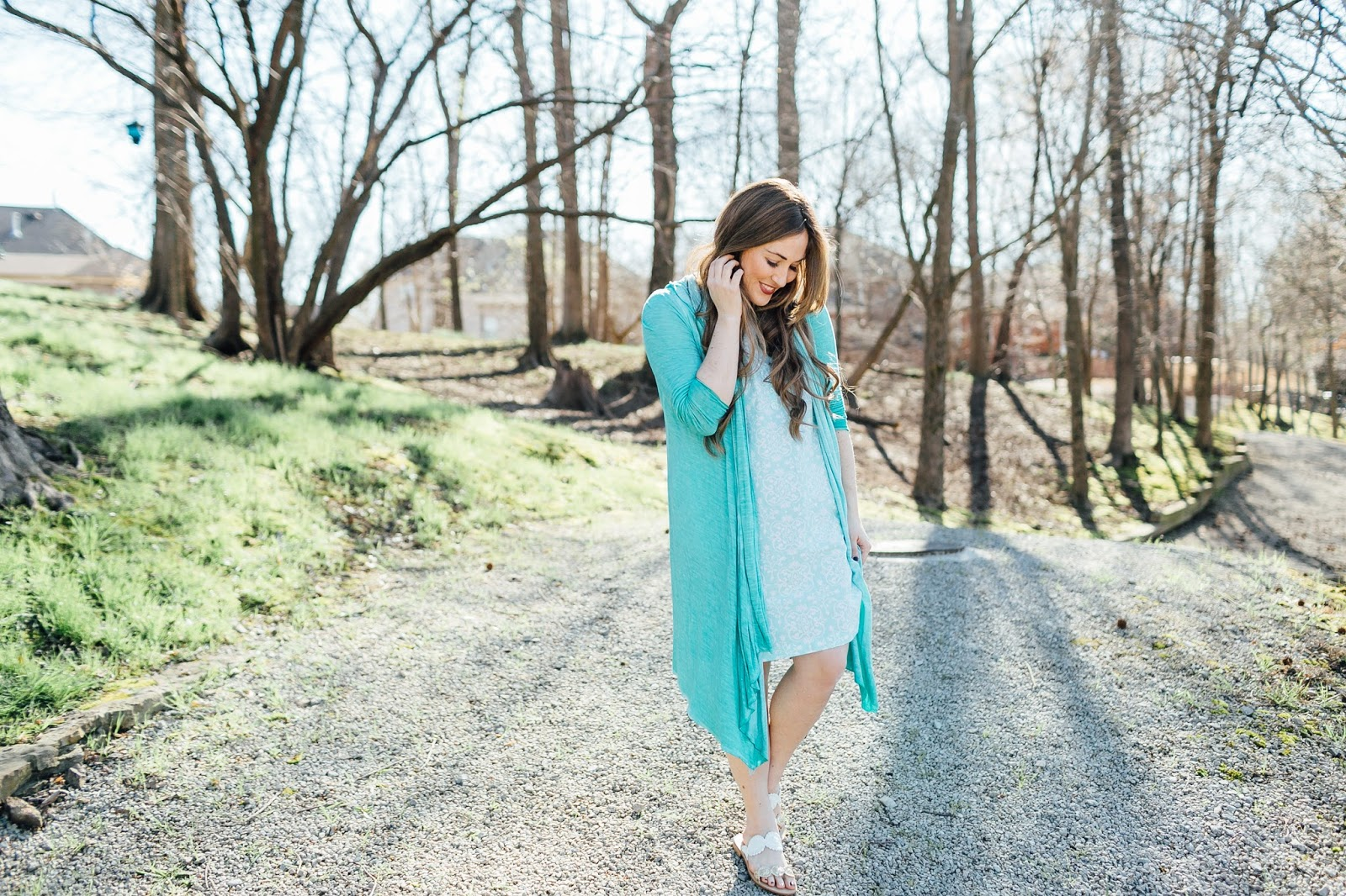 Trend Spin Linkup - Spring Sandals by fashion blogger Laura from Walking in Memphis in High Heels
