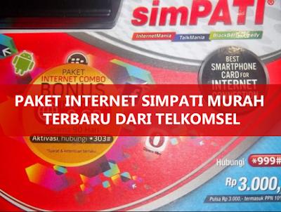 Cara daftar paket internet simpati termurah