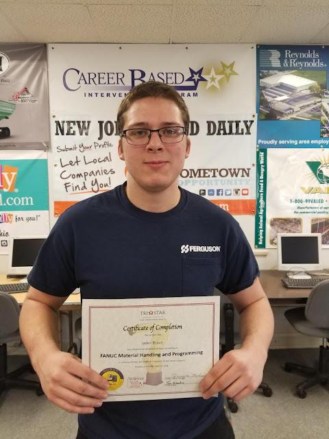 A student won an award