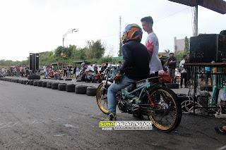 Hasil Swallow Drag Bike Purbalingga 11 Maret 2018