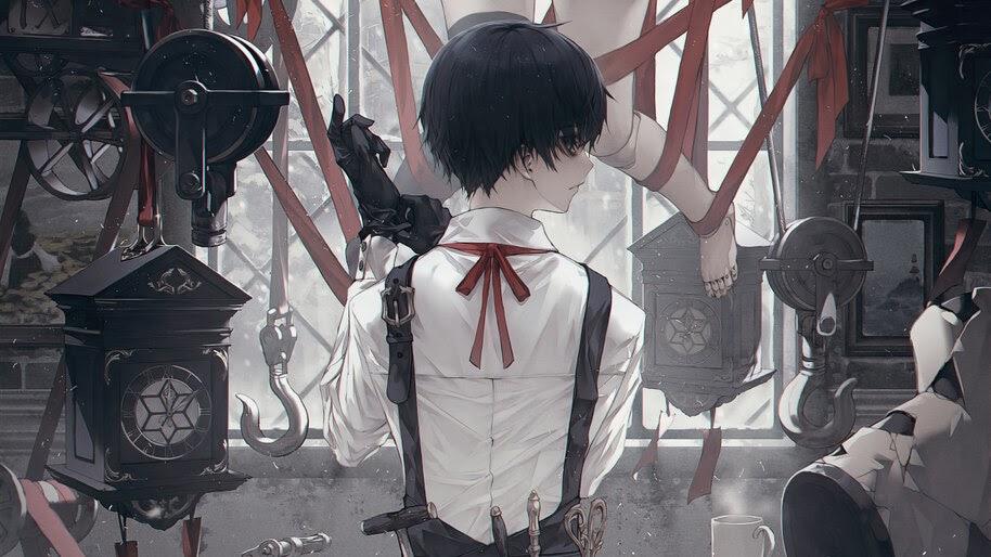 Anime, Dollmaker, 4K, #6.1293