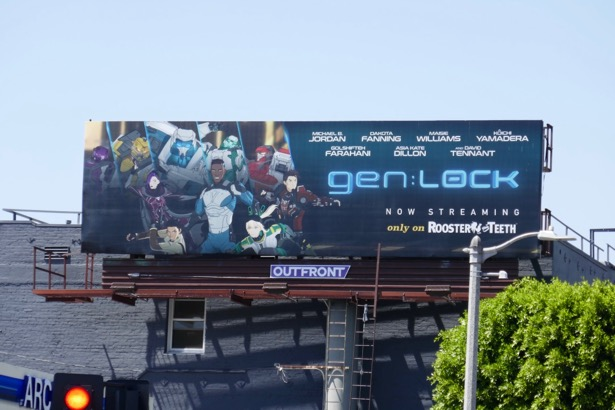 genLOCK series premiere billboard