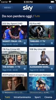 Sky Guida TV  si aggiorna alla vers 2.3.3