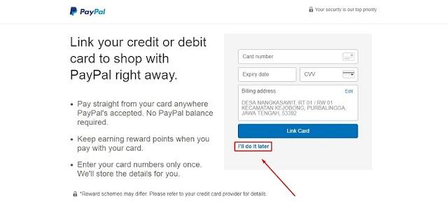 Cara Membuat Akun Paypal Lengkap Terbaru