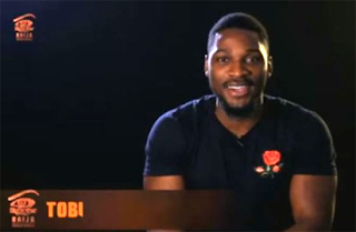#BBNaija: Tobi becomes first Head of House