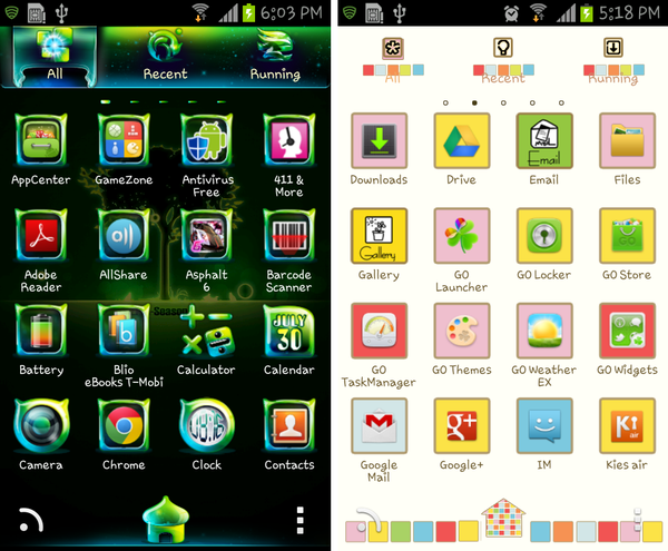 go launcher latest version apk