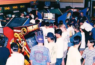 Salón recreativo de los 90