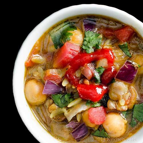 Moroccan Chickpea Soup (Harira)