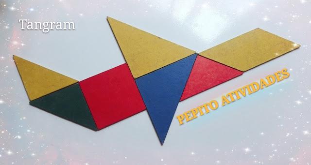 Como utilizar o tangram para criar figuras de meio de transporte