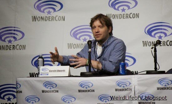 Director Gareth Edwards at the Godzilla panel