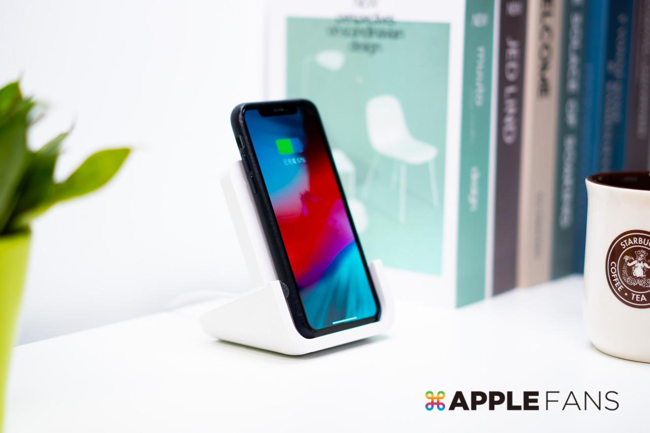 【開箱】羅技 Logitech Powered 無線充電立架,讓 iPhone 充電不再躺著! – APPLEFANS 蘋果迷