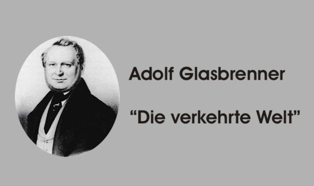 Gedichte Und Zitate Fur Alle A Glasbrenner Die Verkehrte Welt