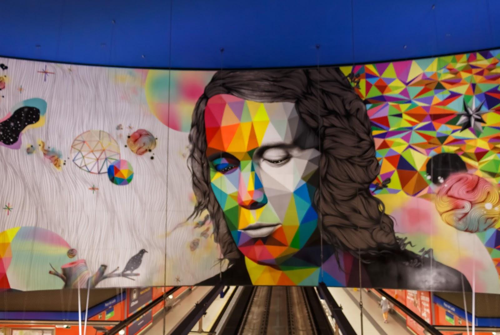 Las Imagenes Que Yo Veo Arte Urbano El Impresionante Mural