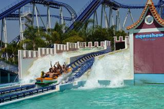 Montaña Rusa de agua, Aquashow Park.