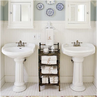 Cottage style bathroom design ideas room design ideas for Bathroom decor styles