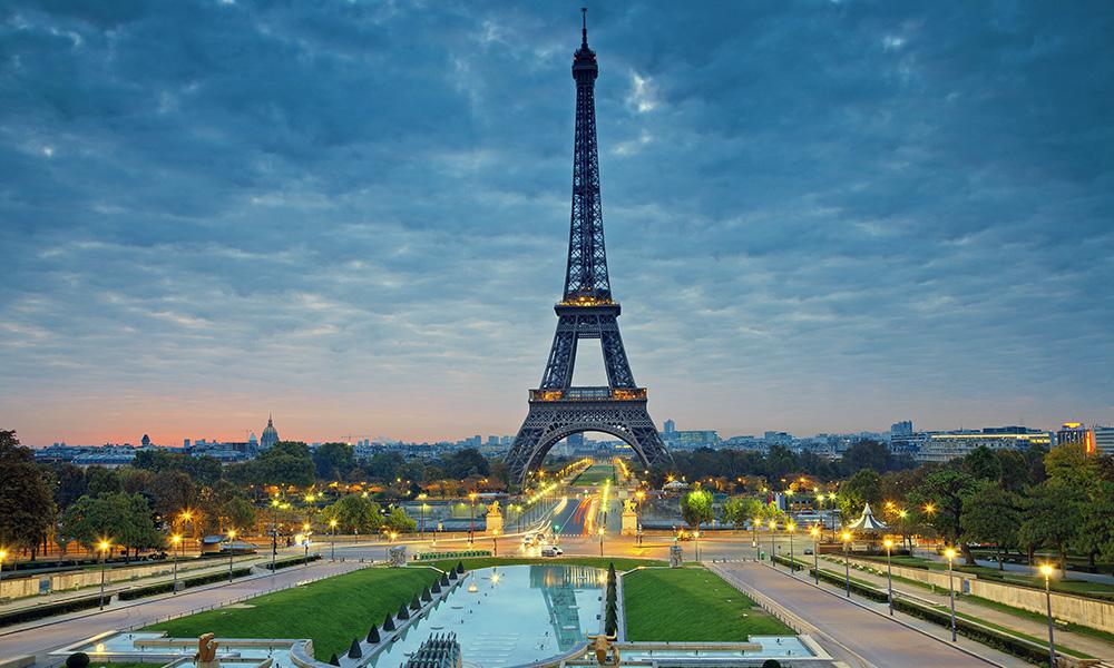 Fuso horario franca paris