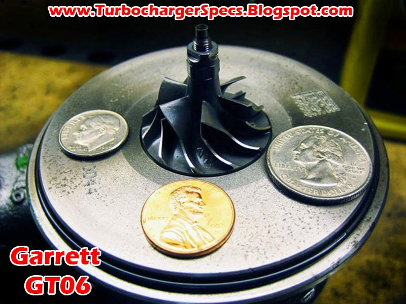 Tiny Garrett GT06 Turbocharger Compressor Wheel vs Coins