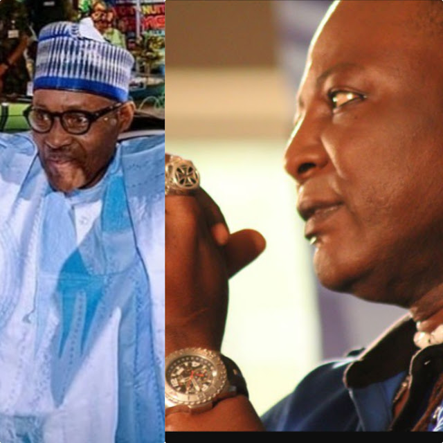 Charly boy writes open letter to Buhari