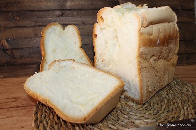 Pan básico sin gluten en panificadora. Julia y sus recetas