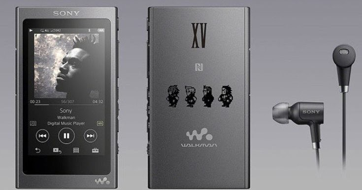 SONY Reveals THEMED WALKMAN and ACCESORIES with FINAL FANTASY XV RELEASE
