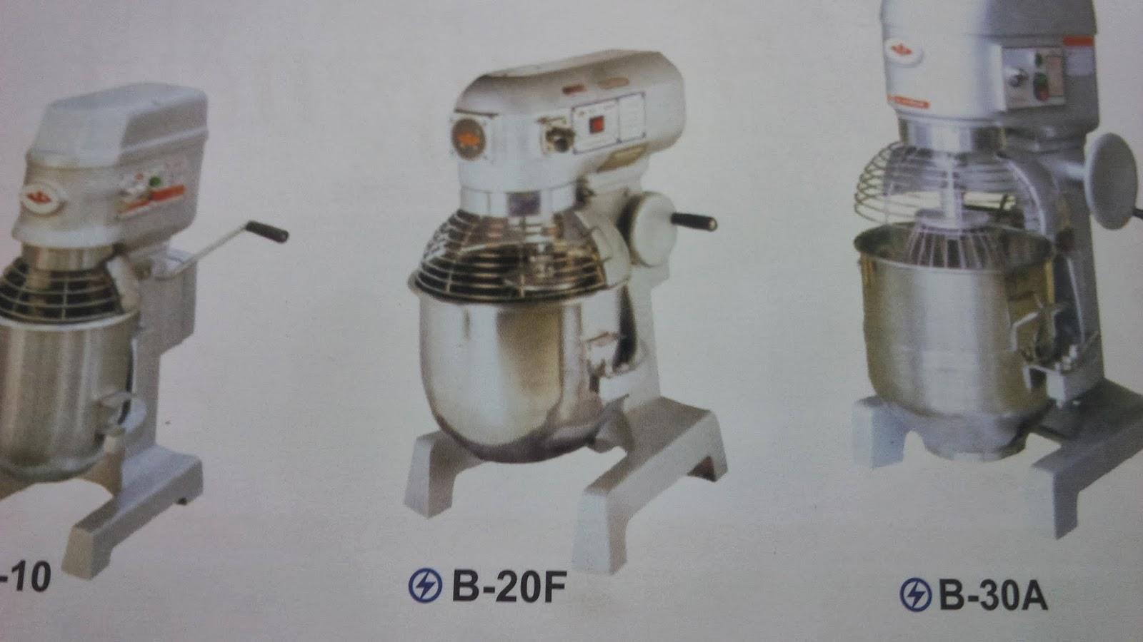 Sentral Gas Mixer Bolu Roti Kue Kering