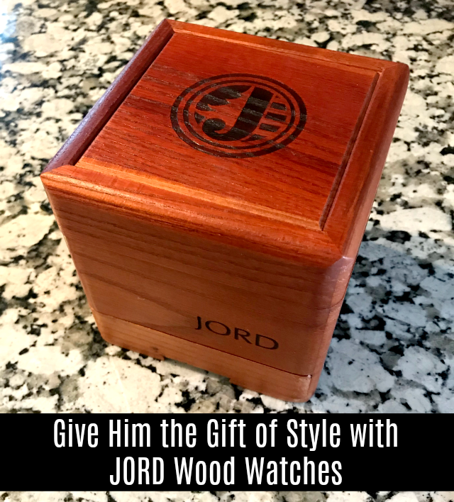 Give Him the Gift of Style with JORD Wood Watches