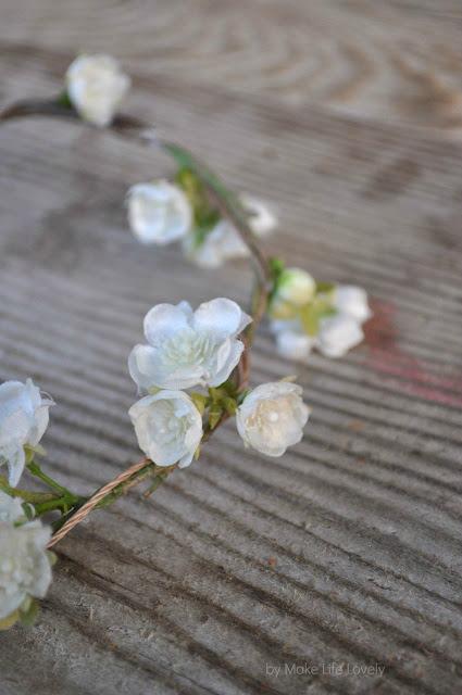 Diy flower crown make life lovely mightylinksfo