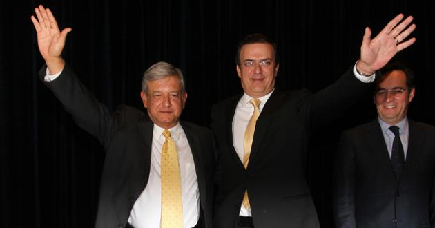 Marcelo Ebrard acercaría a AMLO con Hillary Clinton