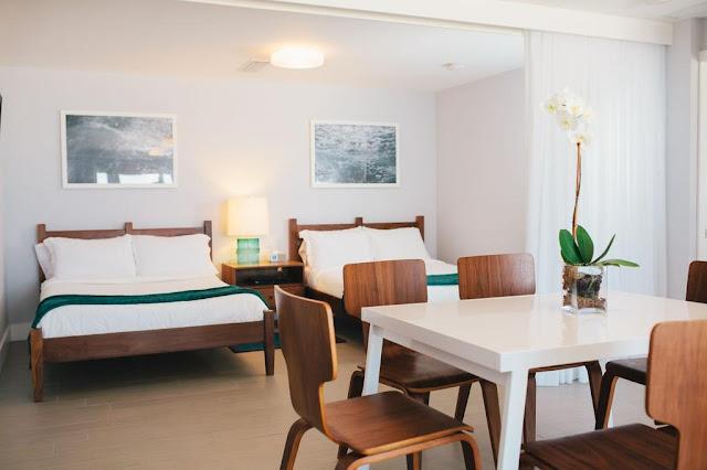 Tides Inn Hotel em Fort Lauderdale: quarto