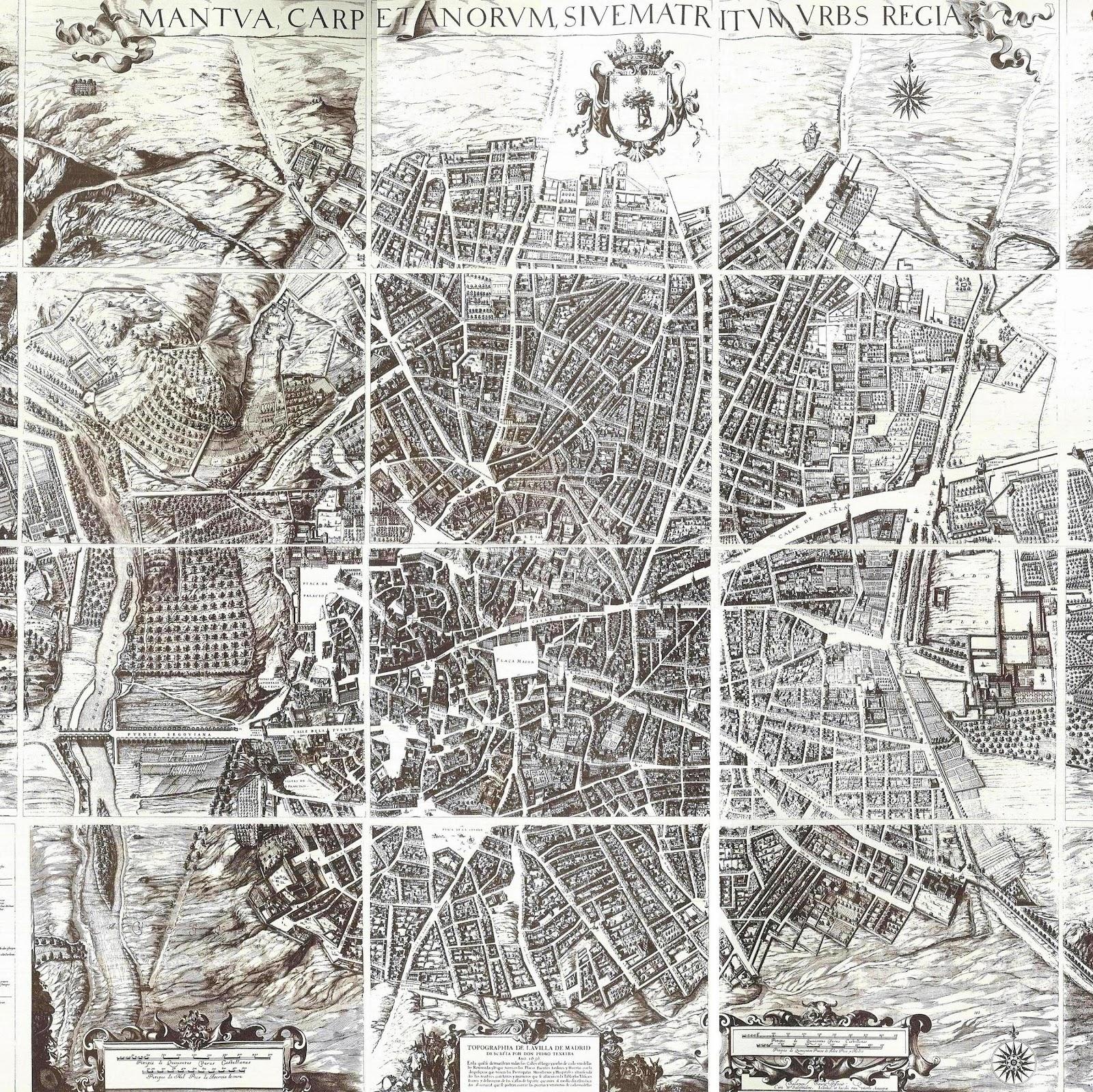 Madrid: Urbanismo en la ciudad cortesana de los siglos