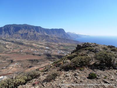 Tamadaba y Faneque desde el Monte Amagro