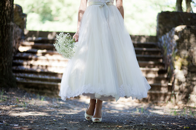 BRIDE CHIC: GOING TO GREAT LENGTHS: YOUR HEMLINE