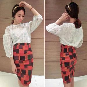 Fashion Korea dengan blouse