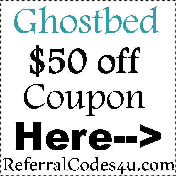 GhostBed Coupon Codes 2016-2017, GhostBed.com Military Discount, GhostBed Reviews August, September, October