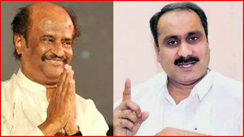 Rajini and Anbumani Ramadoss