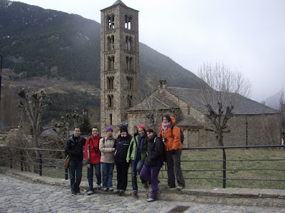 Romanesque church of Sant Climent de Taüll in La Vall de Boí
