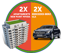 Castiga 1 apartament in New Point Pipera + 1 Mercedes-Benz GLA