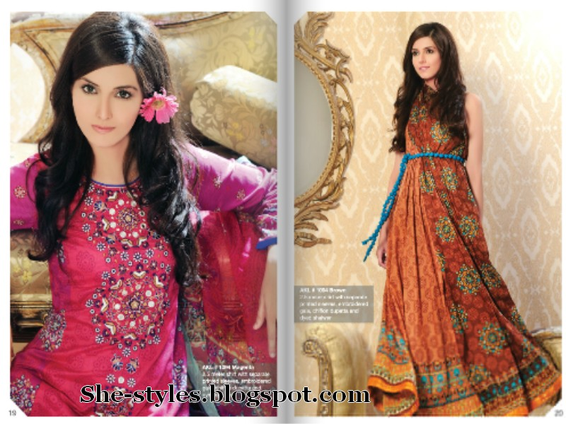 4064e8f97f Al Karam Summer Fest Dresses 2012 | Al Karam Festival Collection 2012 |  She-Styles | Pakistani Designer Dresses - Fashion Weeks - Lawn Collection