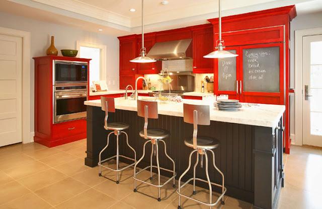 Keyifli mutfaklar için dekorasyon örnekleri 2