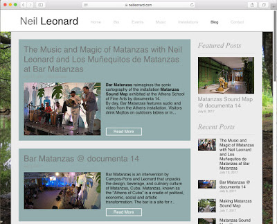 Neil Leonard New Blog