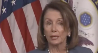 VIDEO: Pelosi suffers more brain freezes, trips over saying 'natural'