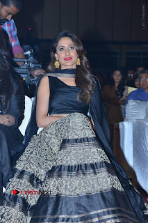 Actress Pragya Jaiswal Stills in Black Dress at Om Namo Venkatesaya Audio Launch Event  0036.JPG