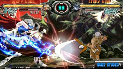 Guilty Gear XX Accent Core Plus PPSSPP PSP