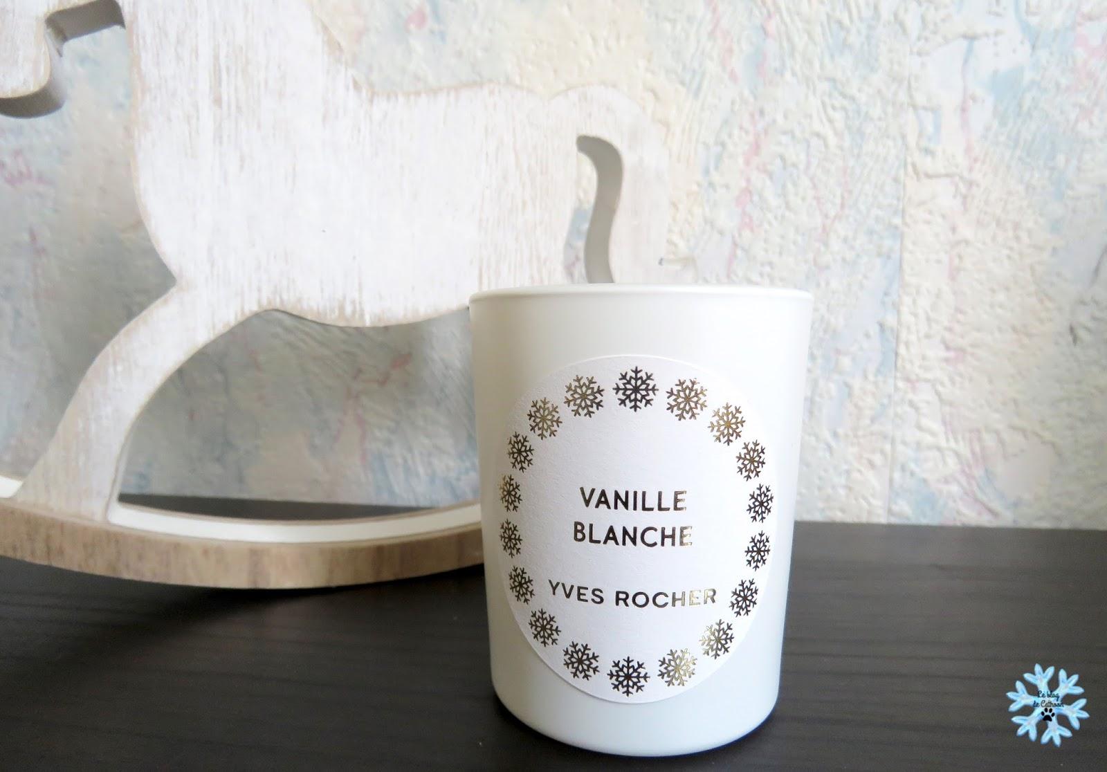 Vanille Blanche - Bougie - Yves Rocher