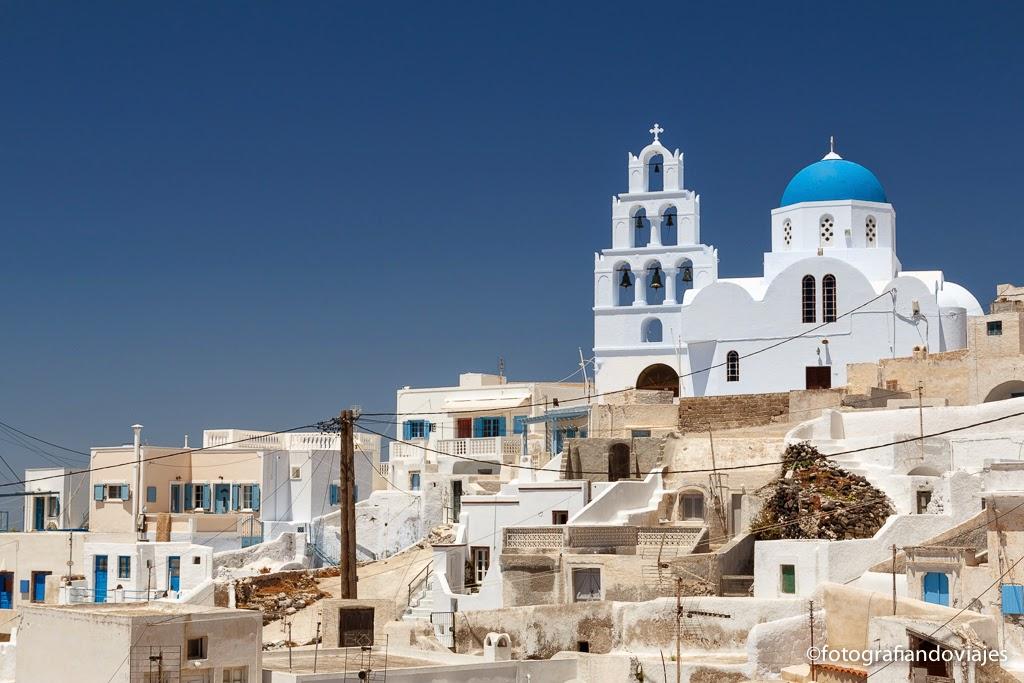 Pyrgos, Santorini, Islas cicladas en Grecia