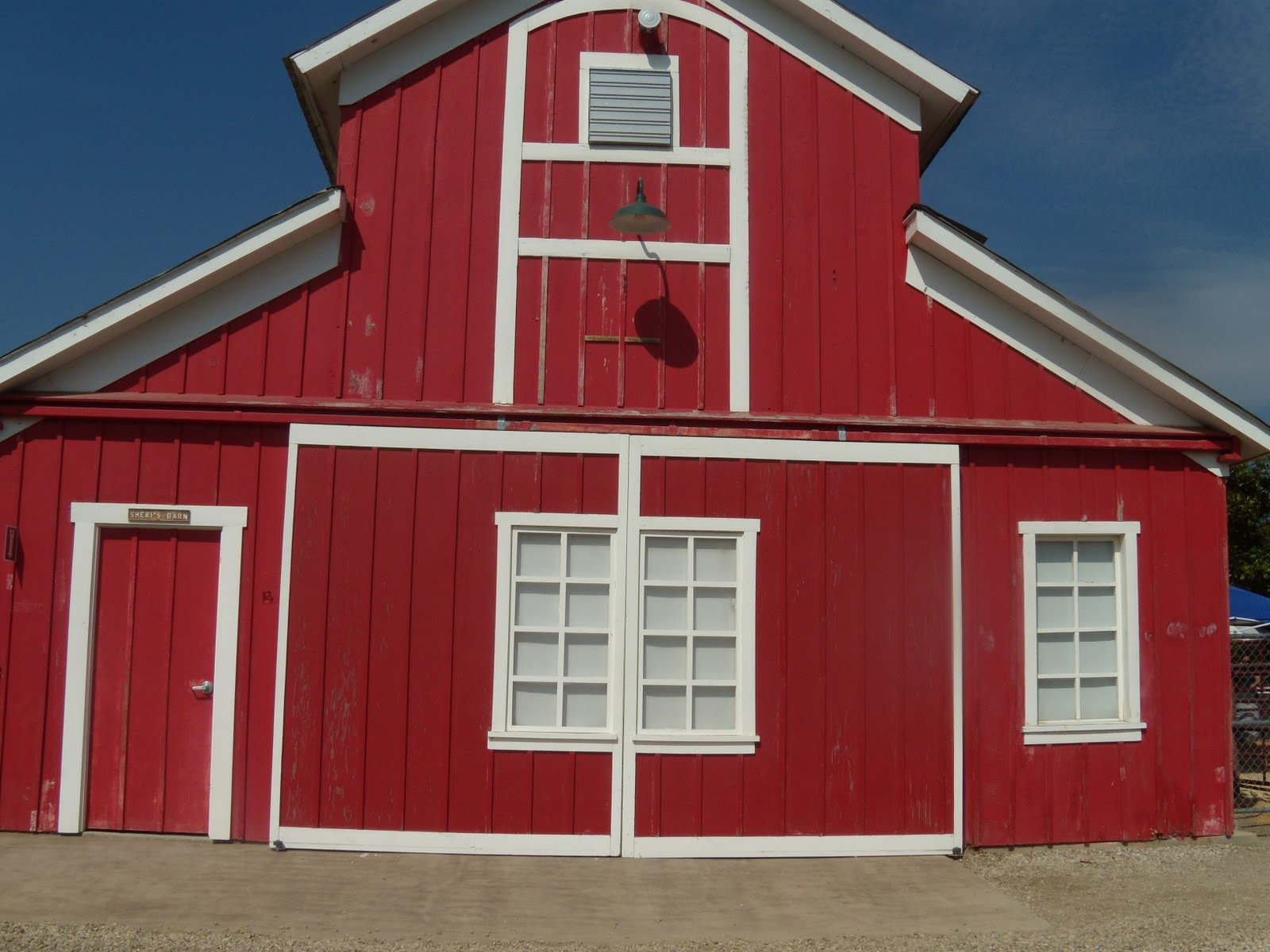 Open red barn doors -  And You Realize Just How Much Open Land Southern California Really Has Just Off The Highway You Ll See A Big Red Barn And A Beautiful Victorian Home