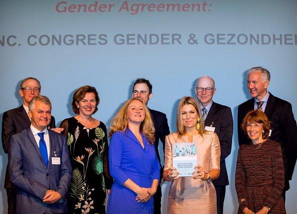 Gender and Health congress WOMEN Inc. that was held at Rijtuigenloods in Amersfoort. Natan Dress and Coat