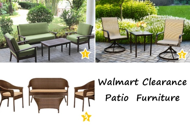 Outdoor patio furniture sale walmart furniture design for Furniture at walmart